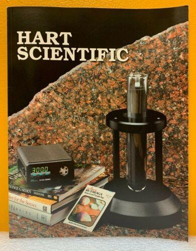 Hart Scientific, Inc. 1995-96 Temperature Calibration Equipment Catalog.