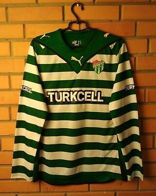 Bursaspor 2010 football shirt Home size L jersey soccer long sleeve Puma image