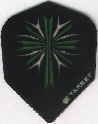 Celtic Green Cross Target Dart Flights  3 Per Set