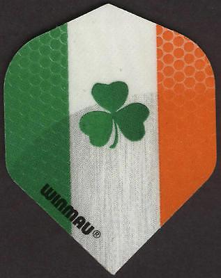 Irish Flag With Shamrock Winmau Dart Flights  3 Per Set