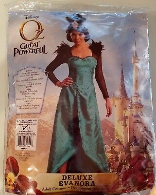 Oz The Great And Powerful Deluxe Evanora Costume Adult XS 2-4-6 ](Oz Great And Powerful Costumes)