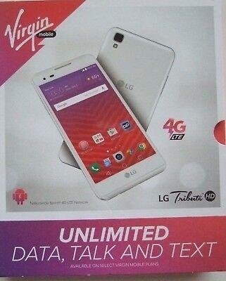 Virgin Mobile Lg Tribute Hd Brand New Cell Phone