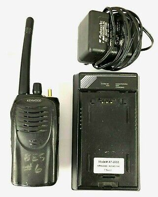 Kenwood Tk-2160 16 Channel Vhf 136-174 Mhz 5w Portable Radio W Charger 2