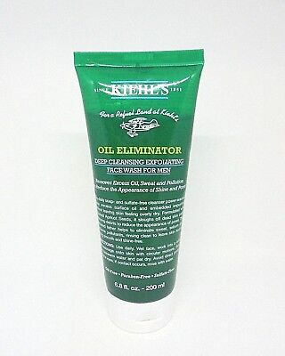 - Kiehl's Oil Eliminator Deep Cleansing Exfoliating Face Wash ~ 6.8 fl oz. ~