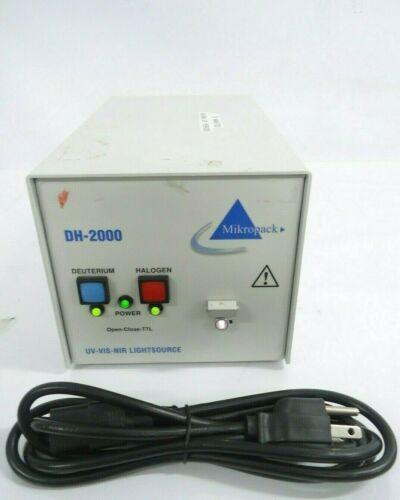GOOD CONDITION MIKROPACK  DH2000 DEUTERIUM LIGHT SOURCE UV-VIS-NIR