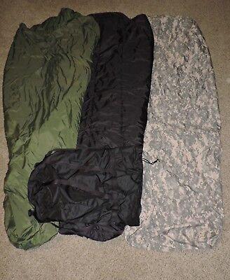 4 PIECE MODULAR SLEEP SYSTEM US ARMY SLEEPING BAG PART MSS GORETEX MILITARY ACU