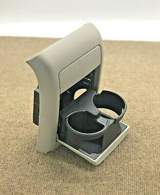 2005-2009 SUBURU OUTBACK LEGACY REAR CONSOLE PULL-DOWN CUP HOLDER TAN BEIGE OEM