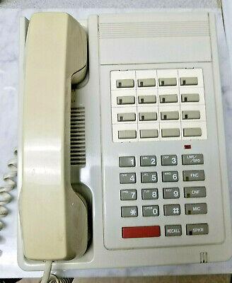Nec 824 Electra Etz 16-1 Telephone With Handset No Display