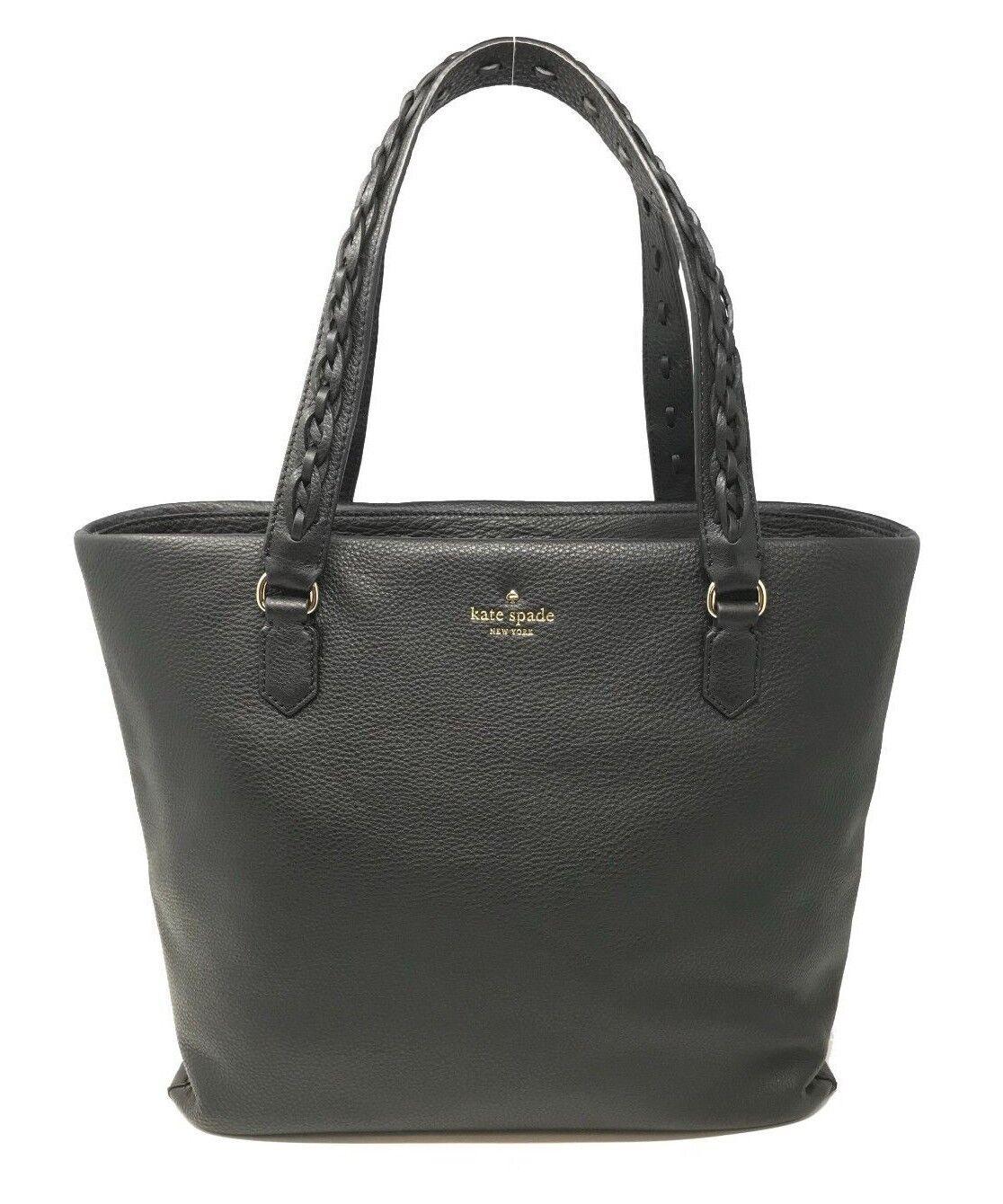 Kate Spade Forrest Road Jasmeen Black Pebble Leather Bag