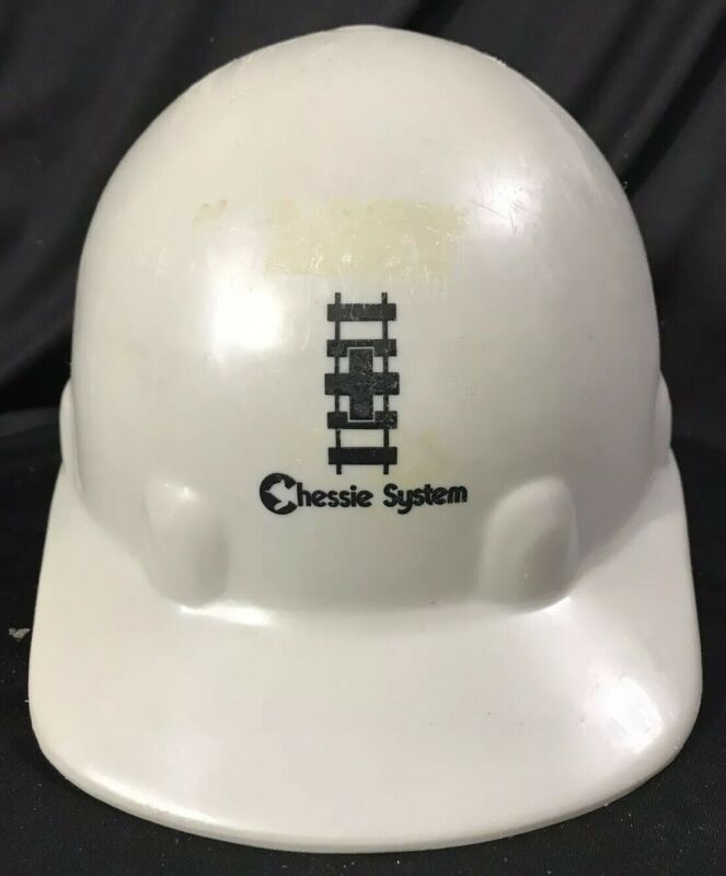 RARE Chessie System Railroad Hard ~ Grey and Blue (Company Issued)