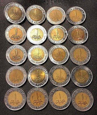 KM#940a KING TUT Pharaoh Egyptian Mummy coin 2005-2018 type Egypt 1 Pound