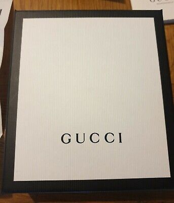 Genuine Gucci Men's Wallet- Card case Empty Box with receipts