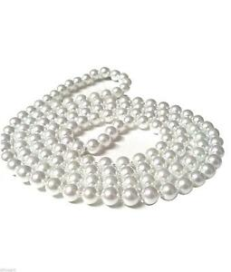 Costume Jewellery Pearl Necklaces  sc 1 st  eBay & Pearl Costume Jewellery | eBay