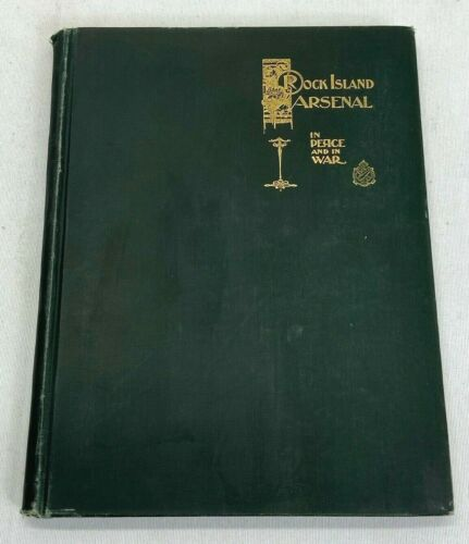 1898 US Army Rock Island Arsenal Book