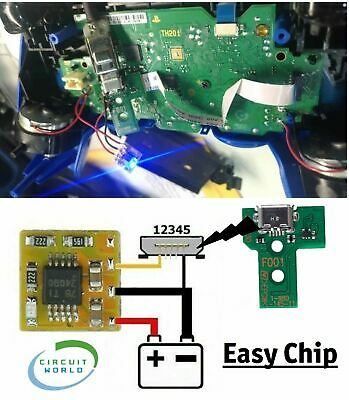 Modulo Easy Chip per Riparazione Scheda Madre Dualshock 4 che non si...