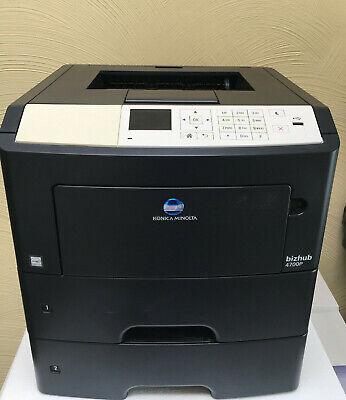 4700 Laser (Konica Minolta Bizhub 4700P Drucker Laserdrucker (Zähler: 8,895 Seiten))
