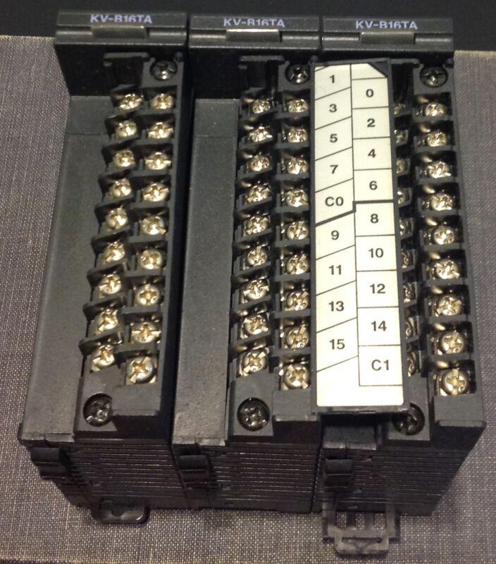 Keyence PLC Output Module KV-B16TA