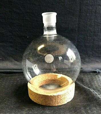 Lab Glass 2926 Joint 2000ml Short Neck Glass Round Bottom Boiling Flask