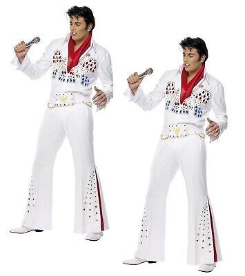 Elvis Presley American Eagle Costume 50s Costume Adulti Completo da Uomo