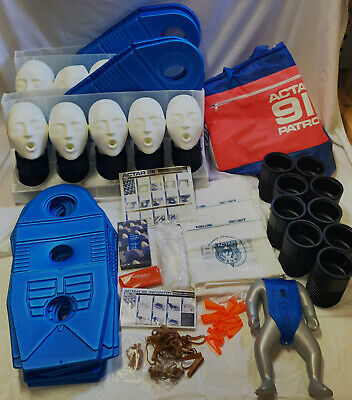 9 Pack Actar 911 Patrol Cpr Manikins Adult Rescue Training Bagssuppliesduffels
