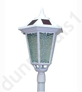 westinghouse 84 034 7 ft solar lamp post outdoor white alum msrp 199. Black Bedroom Furniture Sets. Home Design Ideas