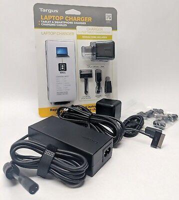 Targus Laptop & Smartphone Charger Kit | For iPod/iPhone/iPad | APA024US | New -