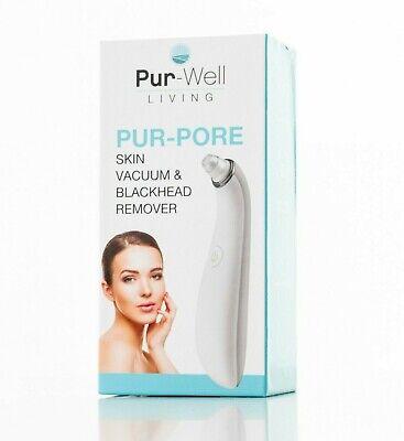 Pur-Well Living PurPore Skin Blackhead Remover Vacuum Facial Pore Cleaner