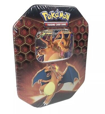 Pokemon Hidden Fates Charizard GX Tin RARE Brand New Sealed NICE COLLECTORS TIN