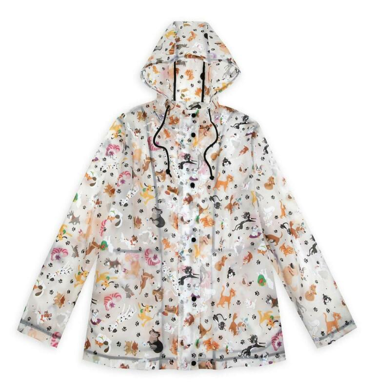 Disney Parks Reigning Cats and Dogs Rain Jacket for Women