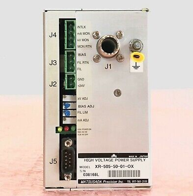 Matsusada Precision Xr 505 50 01 Ox High Voltage X Ray Power Supply