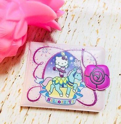 Vintage Sanrio Hello Kitty Wallet Pink 2007 Circus Ballerina Snap