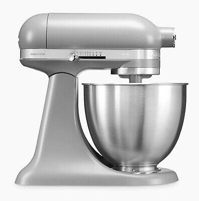 KitchenAid 5KSM3311XBFG Artisan Mini Stand Mixer 3.3 Litre Matte Grey