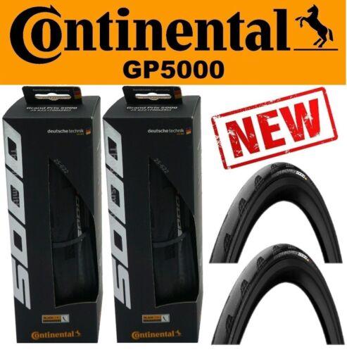 2Pak Continental Grand Prix GP 5000 700 x 25 IMPROVED GP 4000s ii Road Bike Tire