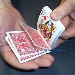 Svengali Bicycle Deck Magic Card Trick - Red Back - King of Hearts