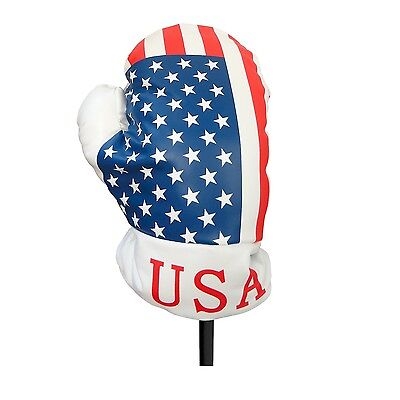 USA Boxing Glove Golf Driver Head Cover Fits Up To 460CC (10377)