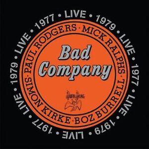 Bad Company - Live 1977 & 1979 - New Double CD - Pre Order 29th April