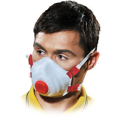 Staubmaske 10 STÜCK Feinstaubmaske Atemschutzmaske Atemschutz FFP3 EN149 NEU TOP