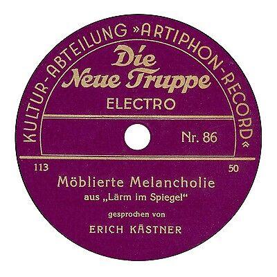 Band 3 Diskographie 78er Schellack-Sprachaufnahmen - / Spoken word discography