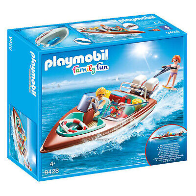 9428 Playmobil Floating Speedboat with Underwater Motor Family Fun Suitable for