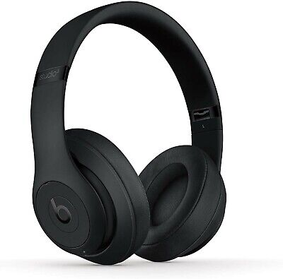 Beats Studio3 by Dr. Dre Wireless Matte Black Over Ear Refurbished ,no box,