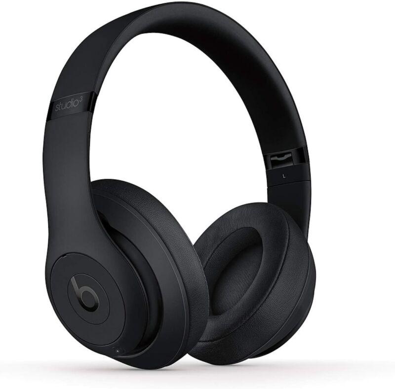 Beats By Dr. Dre Beats Studio3 Wireless Over-Ear Headphones 2020 - Matte Black
