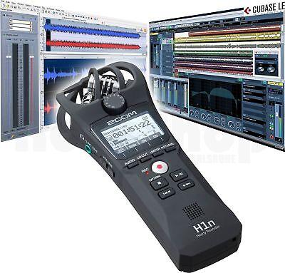 WaveLab LE Cubase LE APH-1n Zubehör SET Zoom H1n Aufnahmegerät Recorder