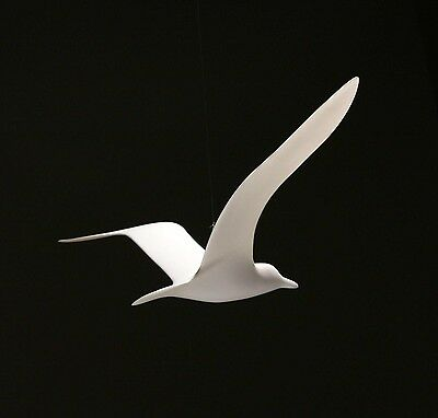 SEAGULL MOBILE Statue New from JOHN PERRY 14in Wingspan Soaring Upwing Style