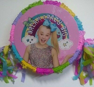 JoJo Siwa Piñata Birthday Party Game party Decoration photo prop, - Birthday Pinata