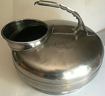Vintage Babson Bros Co Chicago Surge Milker Stainless Steel Milk Bucket S311509