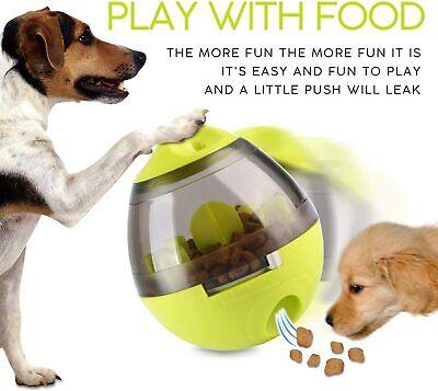 Dog Tumbler Food Ball Treat IQ Food Ball Feeding Tumbler Interactive Toy for Dog