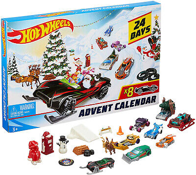 Hot Wheels 2019 Advent Calendar Vehicles