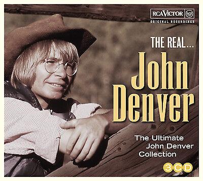 John Denver Real Best Of Ultimate Collection 53 Original Recordings New 3 Cd