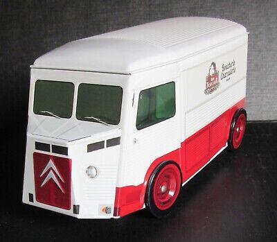 boîte en tôle 20cm - camionnette Citroën Type H échelle approx.1:21