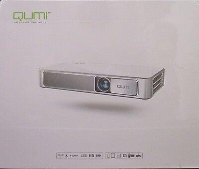 Vivitek Qumi Q3PLUS-RD LED HD Pocket Projector - Red - Brand New SEALED